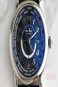 万宝龙手表二手回收能卖多少钱