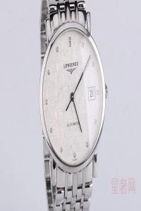 带一个月的浪琴博雅手表回收能卖多少钱
