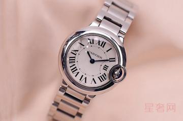女款卡地亚蓝气球手表回收价格是多少
