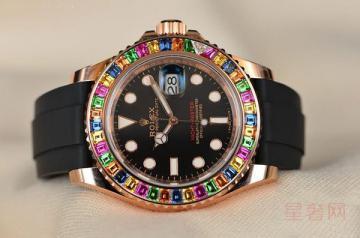 劳力士游艇名仕彩虹圈手表回收多少钱