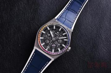 真力时手表有人回收吗 能卖多少钱