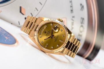 劳力士18k金18238手表回收可以卖多少