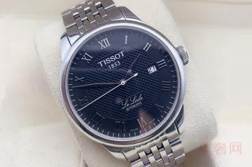 九成新的天梭手表回收能卖多少钱