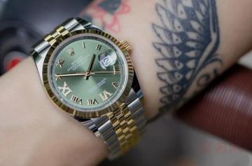 劳力士日志型绿盘手表回收价格是多少