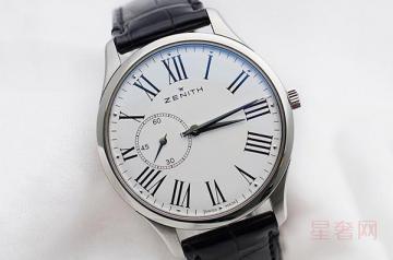 真力时手表回收价格怎么样 值钱吗
