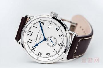 汉米尔顿机械手表回收大概什么价位