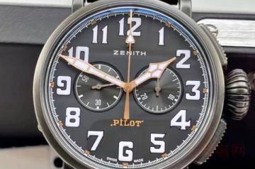 二手的真力时手表什么价格回收算保值