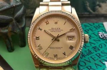 镀金手表多少钱回收才算的上保值
