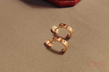 二手钻石耳钉回收能卖多少钱呢